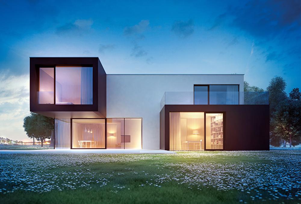 Villa linea design il boldesico for Villa prefabbricata prezzi